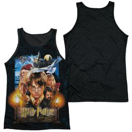 Harry Potter The Beginning Adult Poly Tank Top Black Back