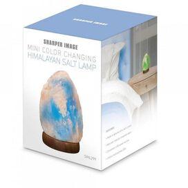 Sharper Image Mini Color Changing Himalayan Salt Lamp