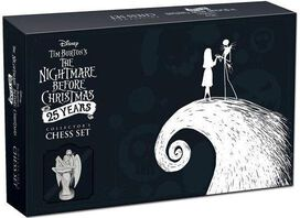 The Nightmare Before Christmas 25 Years Collector's Chess Set