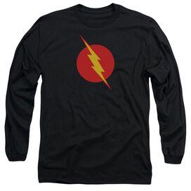 Jla Reverse Flash Long Sleeve Adult T-Shirt
