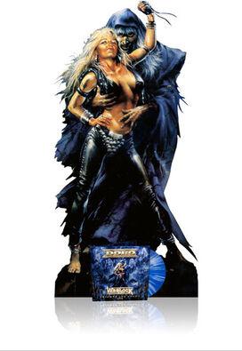 Doro - Warlock - Triumph & Agony Live (5'9 cardboard stand of Doro & Warlock)