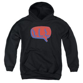 Yes Word Bubble Youth Pull Over Hoodie