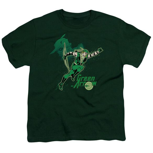 Dc Arrow In Action Short Sleeve Youth Hunter T-Shirt