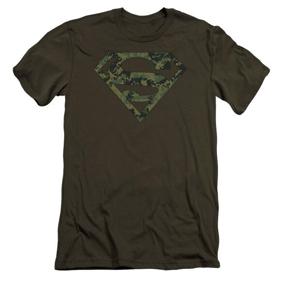 Superman Marine Camo Shield Premuim Canvas Adult Slim Fit Military