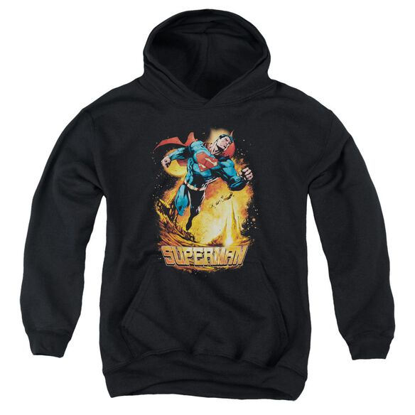 Superman Space Case Youth Pull Over Hoodie