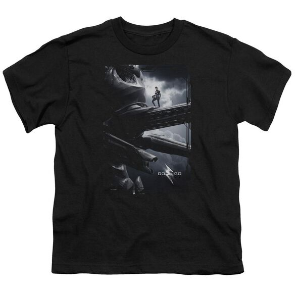 Power Rangers Zord Poster Short Sleeve Youth T-Shirt