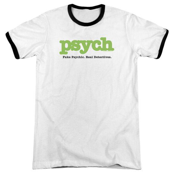 Psych Title Adult Ringer White Black