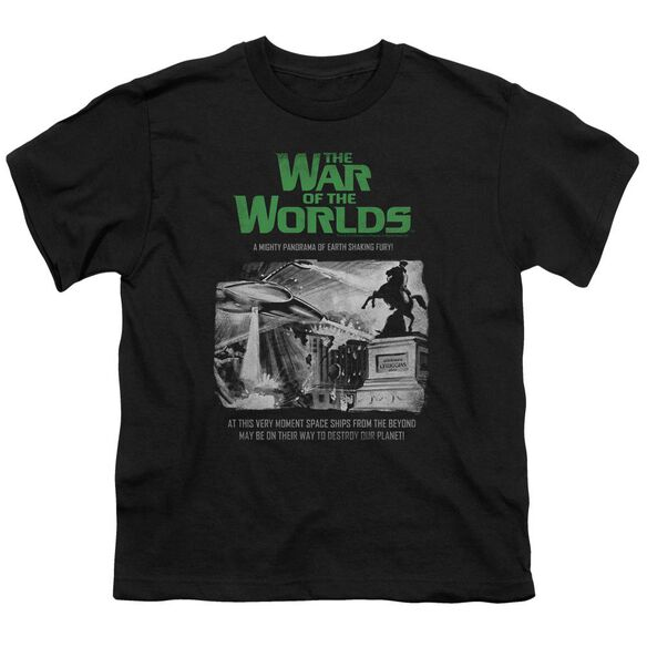War Of The Worlds Attack People Poster Short Sleeve Youth T-Shirt