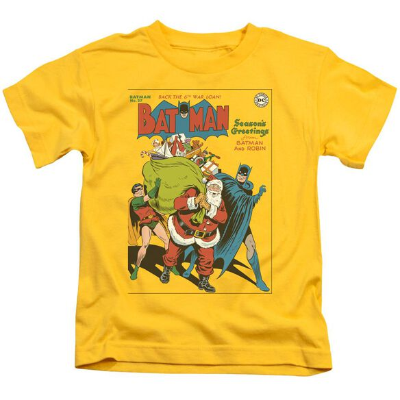 Dc Cover No. 27 Short Sleeve Juvenile Yellow T-Shirt