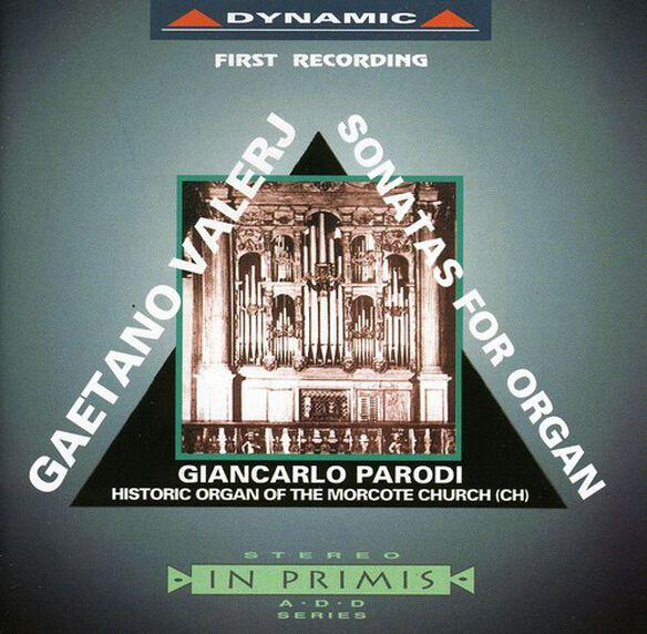 Valerj/ Parodi - Sonatas for Organ