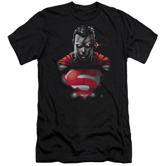 Superman Heat Vision Charged Premuim Canvas Adult Slim Fit