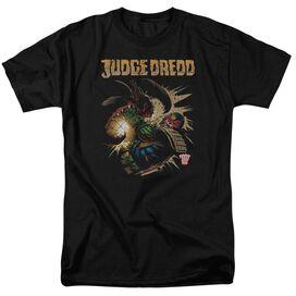 Judge Dredd Blast Away Short Sleeve Adult T-Shirt