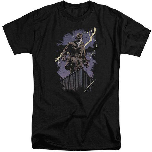 Watchmen Rorschach Night Short Sleeve Adult Tall T-Shirt