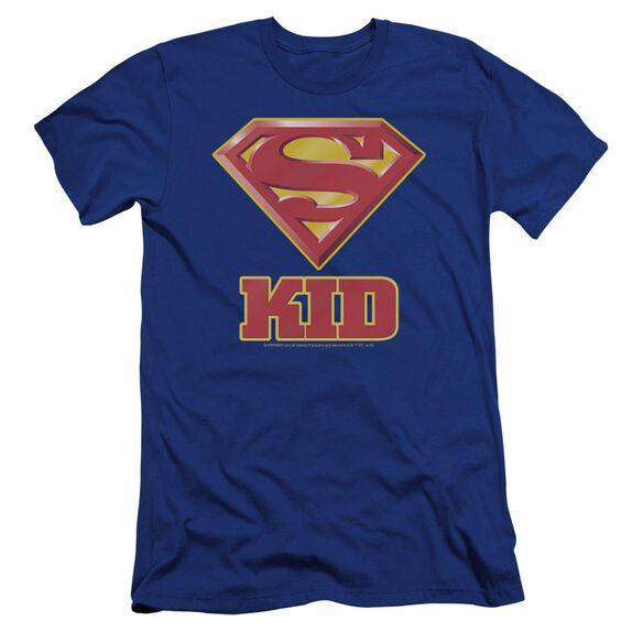 Superman Super Kid Premuim Canvas Adult Slim Fit Royal