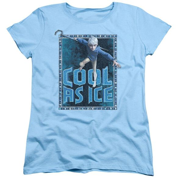 Rise Of The Guardians Jack Frost Short Sleeve Womens Tee Light T-Shirt