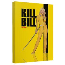 Kill Bill Vol 1 Poster Canvas Wall Art With Back Board