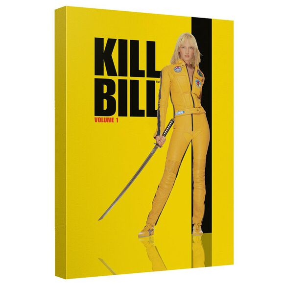 Kill Bill Vol 1 Poster Canvas Wall Art With Back Board