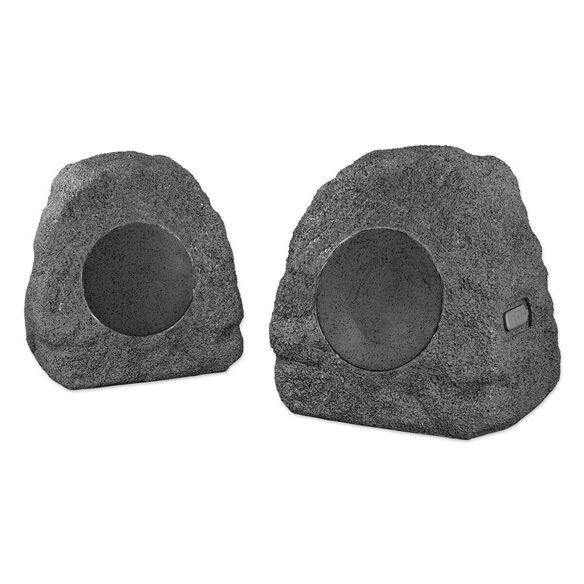 Innovative Technology Wireless Waterproof Rechargeable Bluetooth Outdoor Rock Speakers.