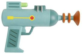 Rick & Morty Foam Laser Gun
