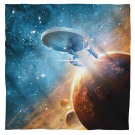 Star Trek Final Frontier Bandana White
