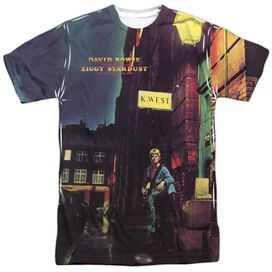 David Bowie Ziggy Star Dust Short Sleeve Adult Poly Crew T-Shirt