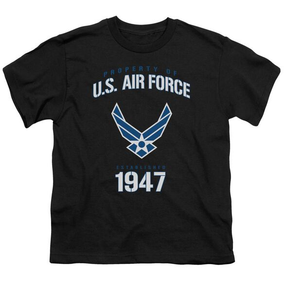 Air Force Property Of Short Sleeve Youth T-Shirt