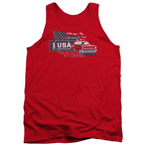 Chevrolet See The Usa Adult Tank