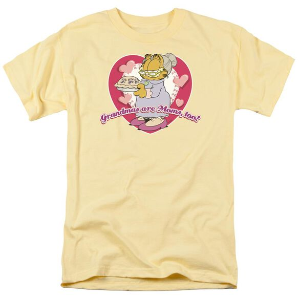 Garfield Don't Forget Grandma Short Sleeve Adult Banana T-Shirt