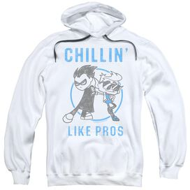 Teen Titans Go Like Pros Adult Pull Over Hoodie
