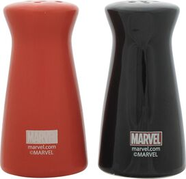 Daredevil Vs Punisher Logos Salt Shaker Set