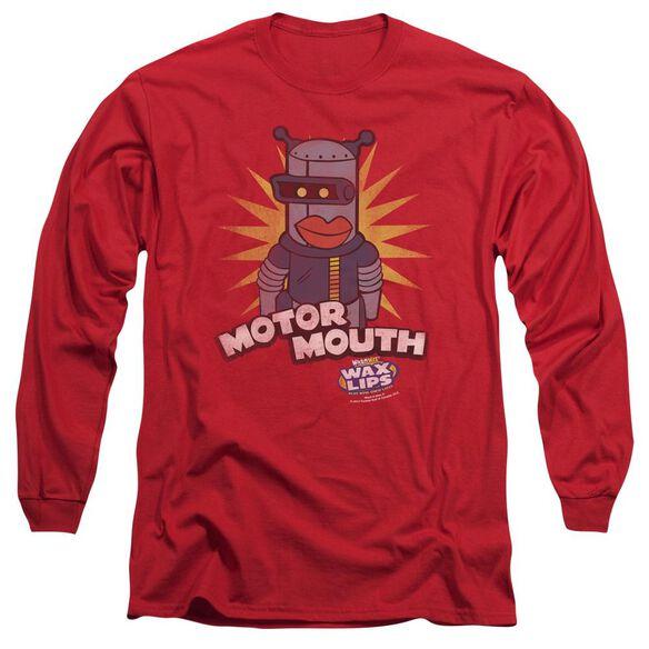 Dubble Bubble Motor Mouth Long Sleeve Adult T-Shirt