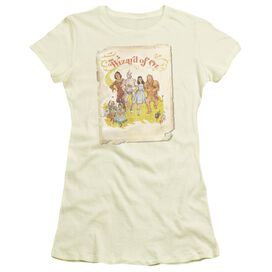 Wizard Of Oz Poster Short Sleeve Junior Sheer T-Shirt