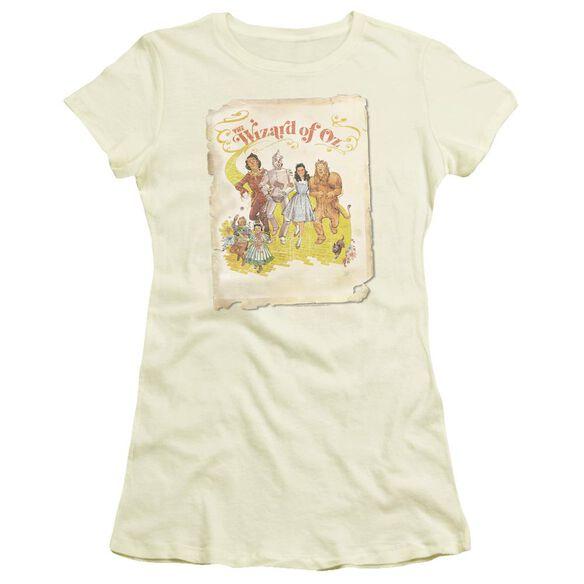 Wizard Of Oz Poster Short Sleeve Junior Sheer T-Shirt