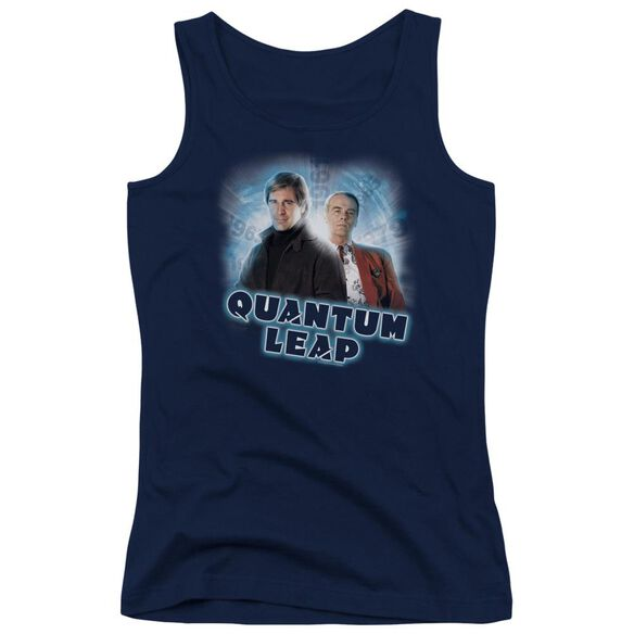 Quantum Leap Sam And Al Juniors Tank Top