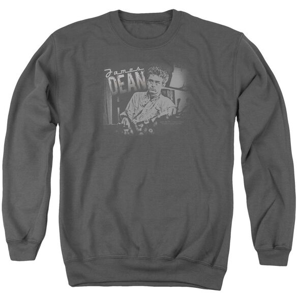 Dean Worn Out Adult Crewneck Sweatshirt