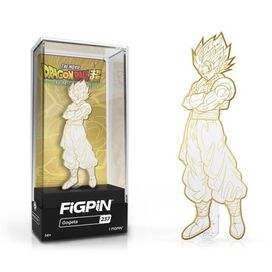 Dragon Ball Super - Broly Gogeta White and Gold Deco FiGPiN