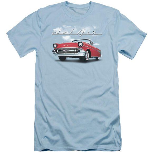 Chevrolet Bel Air Clouds Short Sleeve Adult Light T-Shirt