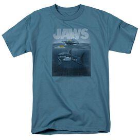 JAW ILHOUETTE - S/S ADULT 18/1 - SLATE T-Shirt