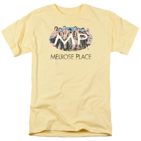 Melrose Place Meet At The Place Short Sleeve Adult Banana T-Shirt