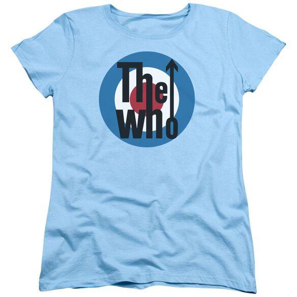 The Who Logo Short Sleeve Women's Tee Light T-Shirt