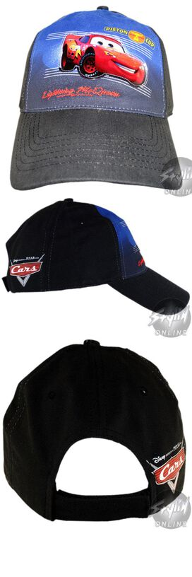 Cars Piston Lightning Juvenile Hat