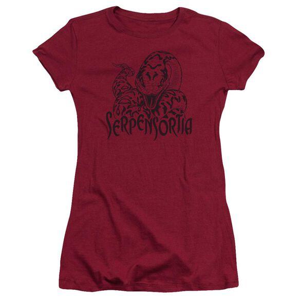 Harry Potter Serpensortia Hbo Short Sleeve Junior Sheer T-Shirt