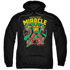 Dc Mr Miracle Adult Pull Over Hoodie