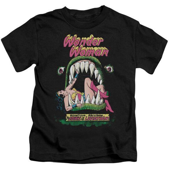 Dc Jaws Short Sleeve Juvenile Black Md T-Shirt