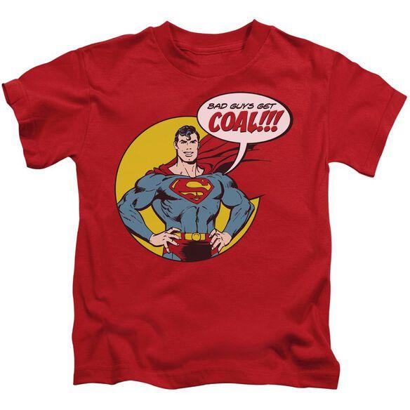 Dc Coal Short Sleeve Juvenile Red T-Shirt