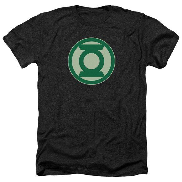 Green Lantern Green Symbol Adult Heather