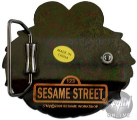 Sesame Street Elmo Buckle