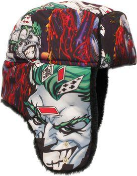 Joker Comic Panel Montage Trapper Hat