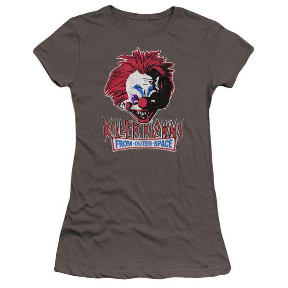 Killer Klowns From Outer Space Rough Clown Premium Bella Junior Sheer Jersey