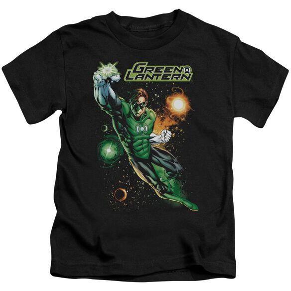 Jla Galactic Guardian Short Sleeve Juvenile T-Shirt